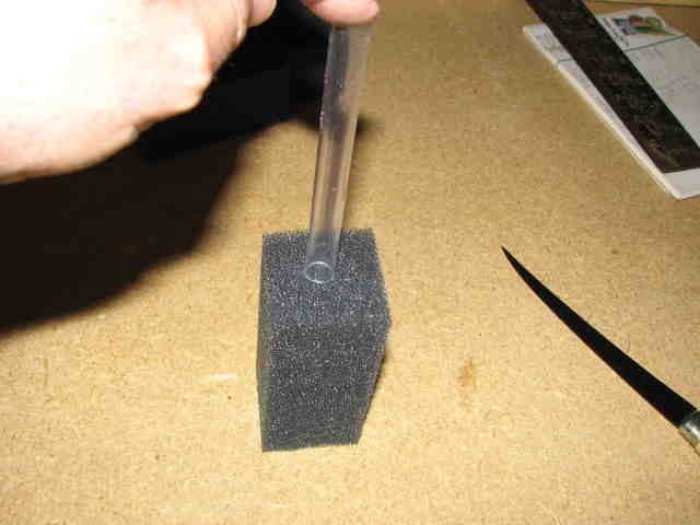 how to make a sponge filter
